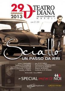 Locandina Sciallo Diana 29 gennaio