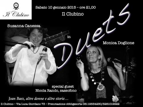Duets Locandina Clubino 2015